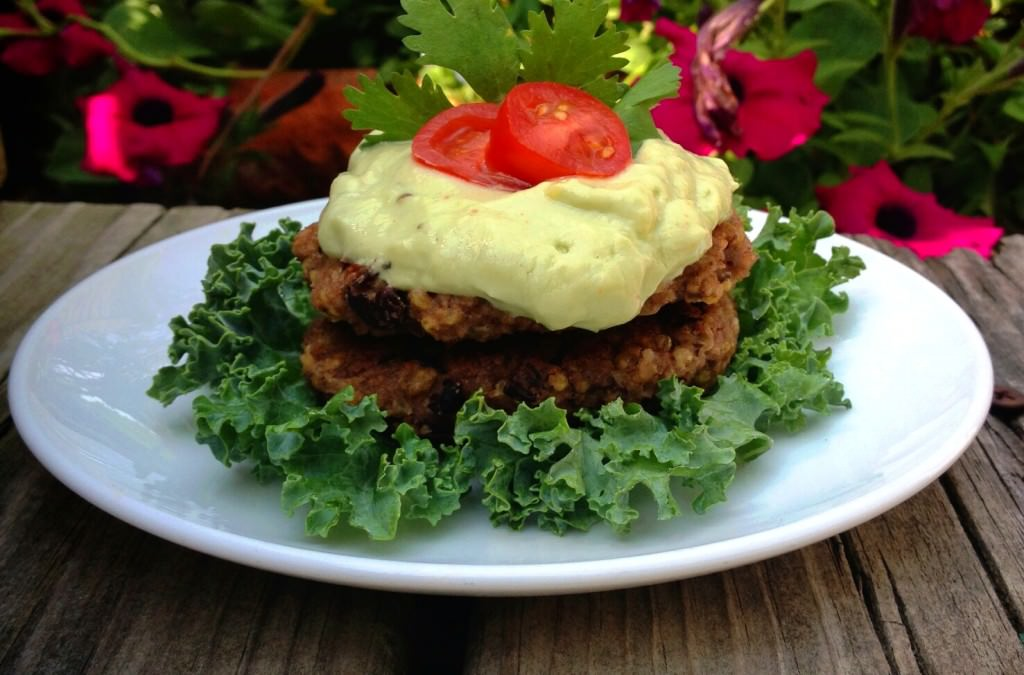 Millet and Black Bean Burger