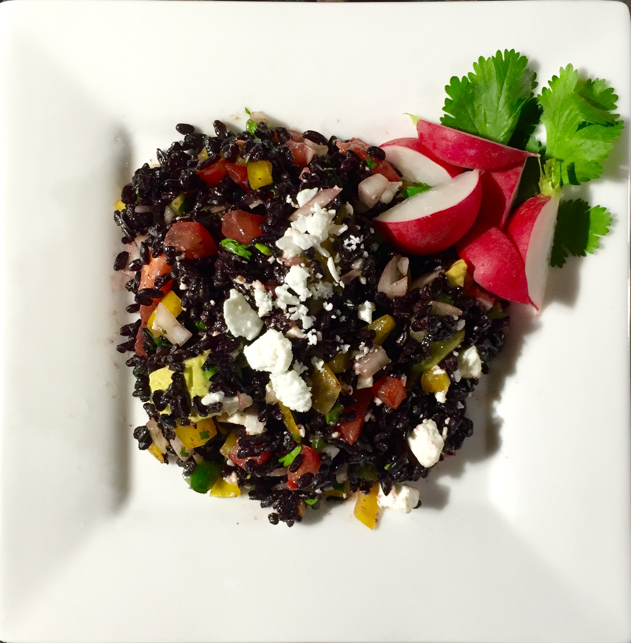 Mexican-Style Black Rice